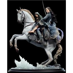 Lord Of The Rings: Lord of the Rings Statue 1/6 Arwen & Frodo on Asfaloth 40 cm