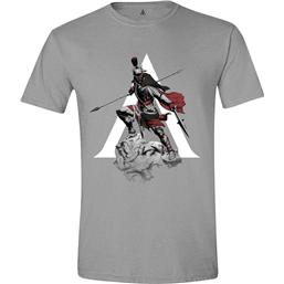 Assassin's Creed: Assassin's Creed Odyssey T-Shirt Character Charge Grey