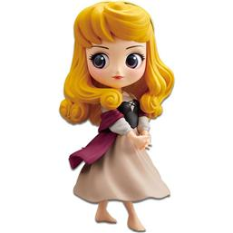 Disney Q Posket Mini Figure Briar Rose (Princess Aurora) A Normal Color Version 14 cm