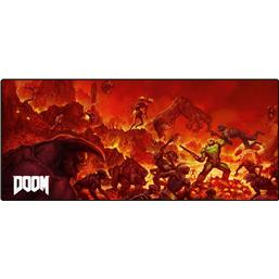 Doom: Doom Oversize Mousepad Retro
