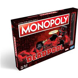 Deadpool: Marvel Board Game Monopoly Deadpool Edition *English Version*