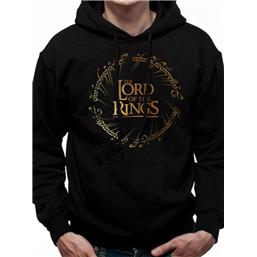 Lord Of The Rings: Lord of the Rings Hooded Sweater Gold Logo