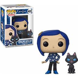 Coraline with Cat POP! Movies Vinyl Figur (#422)