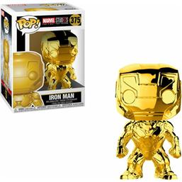 Iron Man (Chrome) POP! Marvel Vinyl Figur (#375)