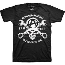 Sons Of Anarchy: Sons of Anarchy T-Shirt Redwood Skull