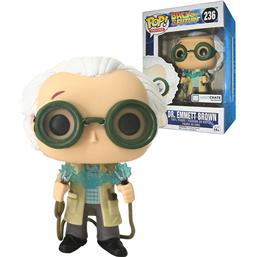 Doc Emmet Brown POP! Vinyl Figur LC Exclusive (#236)
