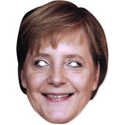 Diverse: Angela Merkel Party Maske