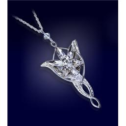 Lord Of The Rings: Lord of the Rings Pendant Arwen´s Evenstar (silver plated)