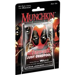 Munchkin Card Game Expansion X-Men: Deadpool Just Deadpool *English Version*