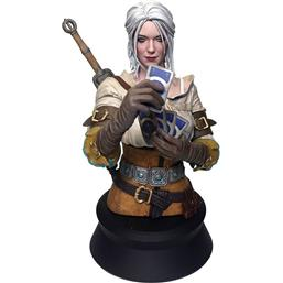 Witcher: Witcher 3 Wild Hunt Bust Ciri Playing Gwent 20 cm