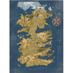 Game Of Thrones: Game of Thrones Puzzle Cersei Lannister Westeros Map