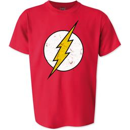 Flash: Flash cracked logo t-shirt