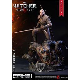 Witcher: Witcher 3 Wild Hunt Statue Geralt of Rivia Exclusive 66 cm
