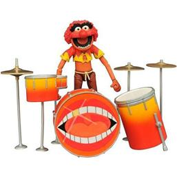 Muppet Show: The Muppets Select Action Figure Animal & Drums 11 cm