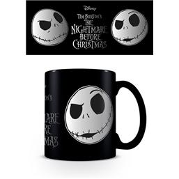 Nightmare Before Christmas Foil Mug Jack Face