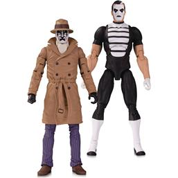 DC Comics: Doomsday Clock Action Figure 2-Pack Rorschach & Mime 18 cm
