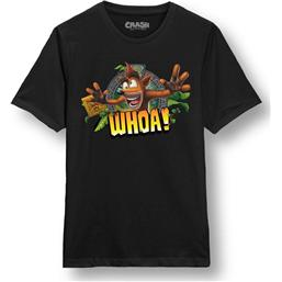 Crash Bandicoot T-Shirt Whoa