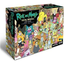 Rick and Morty: Rick and Morty Cooperative Card Game Total Rickall *English Version*