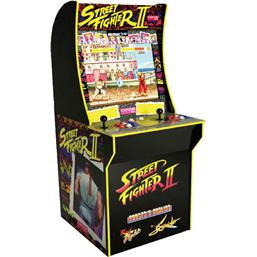 Street Fighter: Arcade1Up Mini Cabinet Arcade Game Street Fighter II 122 cm