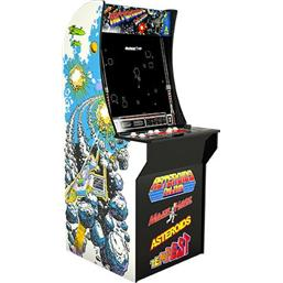 Diverse: Arcade1Up Mini Cabinet Arcade Game Asteroids Deluxe 122 cm