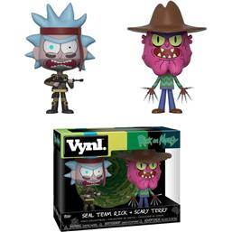 Rick and Morty: Rick and Morty VYNL Vinyl Figures 2-Pack Rick & Scarry Terry 10 cm
