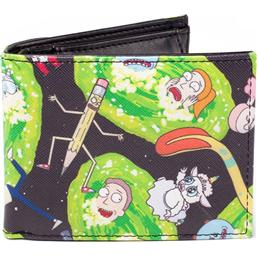 Rick and Morty Wallet Characters