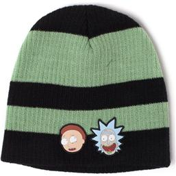 Rick & Morty Striped Beanie