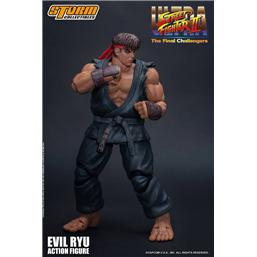 Street Fighter: Ultra Street Fighter II: The Final Challengers Action Figure 1/12 Evil Ryu 15 cm