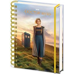 13th Doctor A5 Notesbog