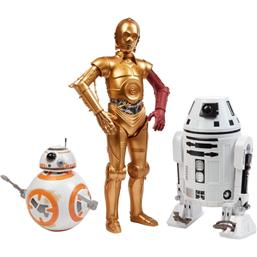 Star Wars: Star Wars Episode VII Action Figure 3-Pack Droids Exclusive 30 cm
