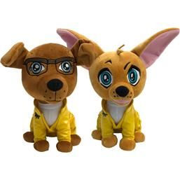 Breaking Bad: Breaking Bad Pawzplay Plush Figures 2-Pack 2018 SDCC Exclusive 20 cm
