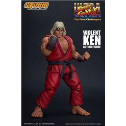 Street Fighter: Ultra Street Fighter II: The Final Challengers Action Figure 1/12 Violent Ken 15 cm