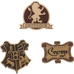 Harry Potter: Gryffindor Pin Sæt 3-Pak