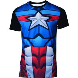 Captain America Sublimation T-Shirt