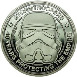 Star Wars: Original Stormtrooper Collectable Coin 40 Years Protecting The Empire