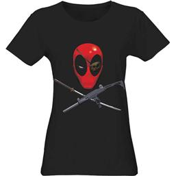 Deadpool Head T-Shirt (damemodel)