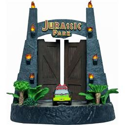 Jurassic Park & World: Jurassic Park Gates Environment Sculpture 20 x 28 cm