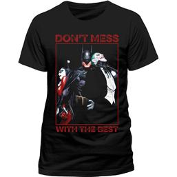 Batman T-Shirt Don't Mess With The Best