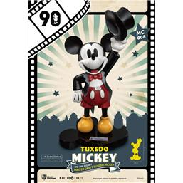 Disney: Mickey Mouse Master Craft Statue 1/4 Tuxedo Mickey 90th Anniversary 47 cm