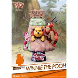 Peter Plys og Christopher Robin: Winnie the Pooh D-Select PVC Diorama 14 cm