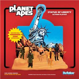Planet of the Apes: Planet of the Apes ReAction Playset Statue of Liberty SDCC 2018