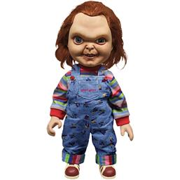 Child's Play: Sneering Chucky - 38 cm med lydeffekter