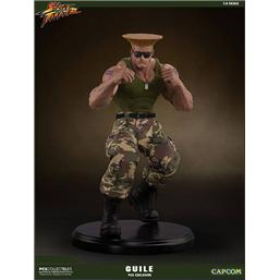 Street Fighter: Street Fighter Mixed Media Statue 1/4 Guile PCS Exclusive 44 cm