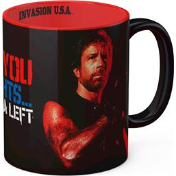 Chuck Norris: Chuck Norris Mug I'm Gonna Hit You Matt Hunter