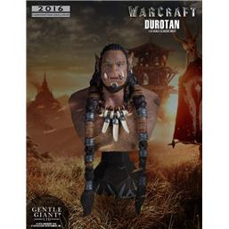 World Of Warcraft: Warcraft The Beginning Bust 1/6 Durotan Classic SDCC 2016 18 cm