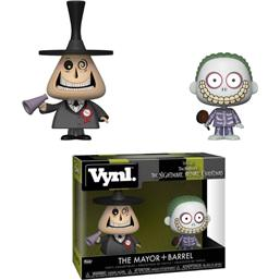 Nightmare Before Christmas: Mayor & Barrel VYNL Vinyl Figurer 10 cm