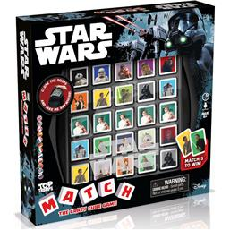 Star Wars Top Trumps Match Spil