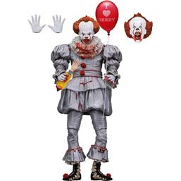 Stephen King's It 2017 Action Figure Ultimate Pennywise (I Love Derry) 18 cm