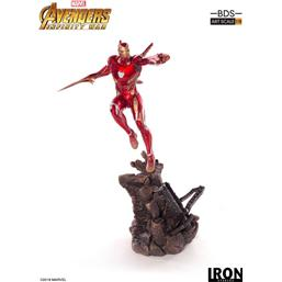 Avengers Infinity War BDS Art Scale Statue 1/10 Iron Man Mark XLVIII 31 cm