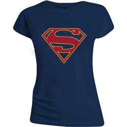 DC Comics: Supergirl Logo T-Shirt (damemodel)